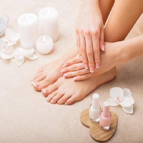 Natural Nail Pedicure